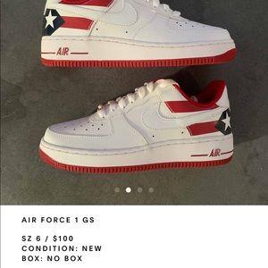 "Nike Air force 1 gs ""puerto rico"""